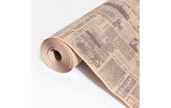 Бумага упаковочная Газета