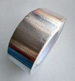 Клейкая лента алюминиевая армированная стеклонитью