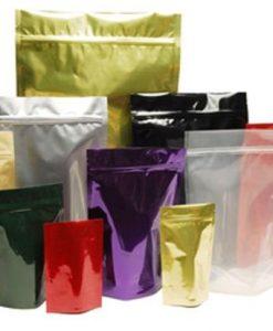 Пакет с защелкой ПВД 06см/08см цветной (упаковка 1000шт.)