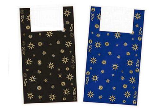 Пакеты «майка» со звездами