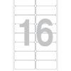Этикетка А4, 105х37