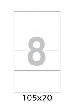 Этикетка А4, 105х70